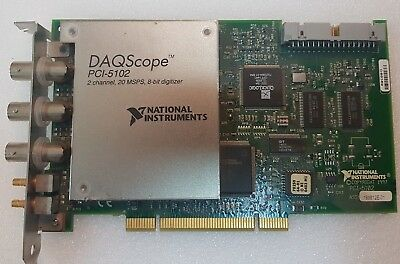 National Instruments NI PCI-5102 DAQ CARD USED Tested