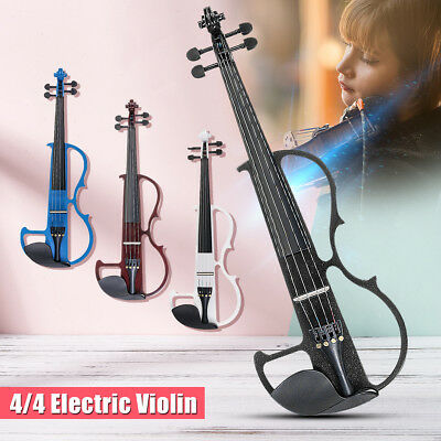 IRIN 4/4 Full Size  Electric Violi with Connecting Line &Earphone &Case Basswood