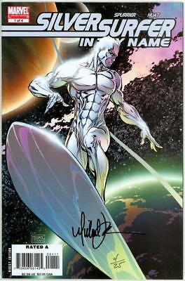 Silver Surfer In Thy Name #1 Df Dynamic Forces Signed Michael Turner Coa 4 Movie