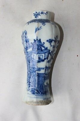 Chinese vase antique 18th c century porcelain pottery
