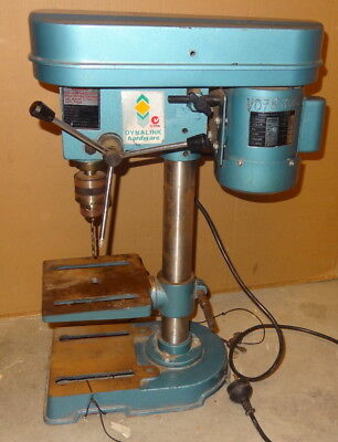 Dynalink 5 Speed Bench Top Pedestal Drill 240V 1/3Hp 13mm Capacity No Reserve!