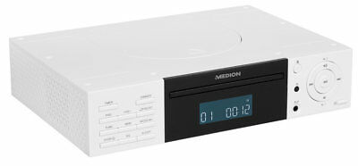 MEDION LIFE E66265 MD 43147 Stereo CD Player Unterbauradio UKW AUX RDS weiß