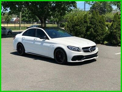 Mercedes-Benz C-Class AMG® C 63 2017 AMG C 63 Used Turbo 4L V8 32V Automatic RWD Sedan Premium