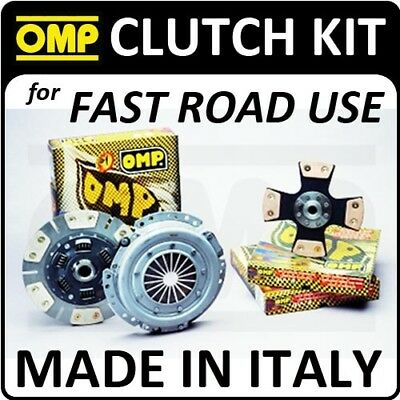 OMP 228mm FAST ROAD CLUTCH KIT SUBARU LEGACY 2.0 TURBO