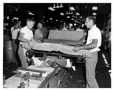 1960 Studebaker Seat On Assembly Line Factory Photo ca0261