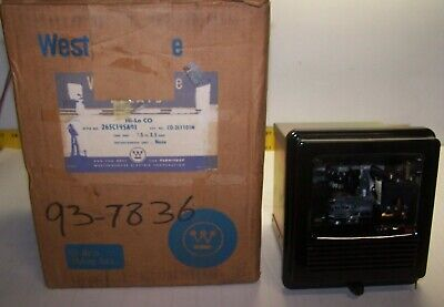 New Westinghouse 1 - 12 Amp Overcurrent Relay C0-2H1101N Style 265C195A05