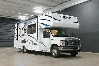New 2017 Gulf Stream conquest 6256 class C motorhome RV ford chassis V10