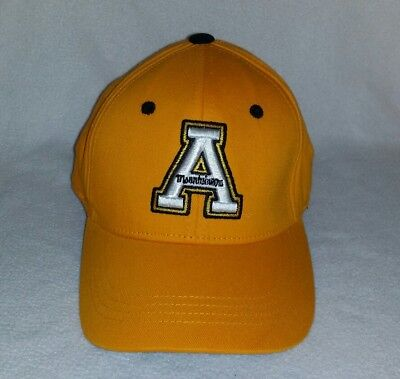 sports shoes 0186e 6e99e ... ncaa mammoth snapback cap 0417f 99241  netherlands vintage appalachian  state mountaineers hat top of the world youth fitted cap new b90fb 68387