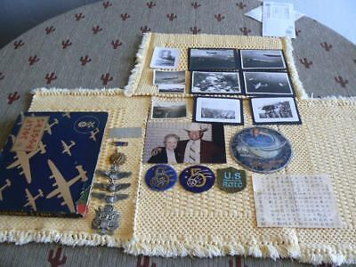Original WW 2 Jolly Rogers 90th Bomb Group 320th Bombardment ID'd Grouping