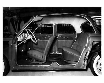 1956 Renault Dauphine Factory Photo ca1859