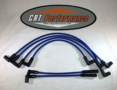 CHEVY Inline 6 Straight 6 194-230-250-292 HEI BLUE 8mm HI-PERF Spark Plug Wire