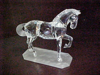 Swarovski Crystal HORSE Made in Austria Mint condition original packaging