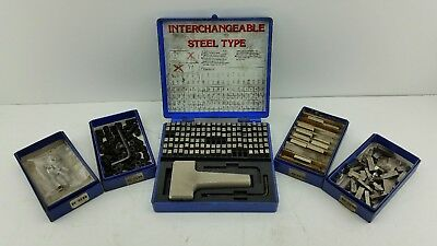 Young Bros Steel Stamp Set 112Pc #51069 With Extras
