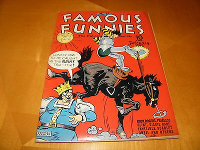 Famous Funnies 91 Feb 1942 SUPER CLEAN FILE COPY cover detached VG 4.0