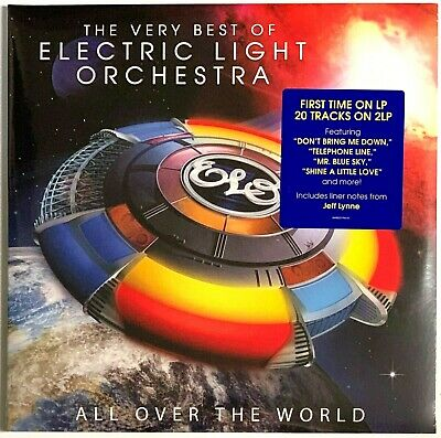 Electric Light Orchestra All Over The World - ELO The Very Best of Vinyl Record