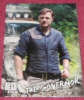 Walking Dead - Road To Alexandria - Character Insert Card #C12 - The Governor