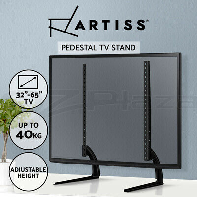 Artiss Universal Table Top TV Stand Desktop Pedestal Bracket Mount 32 to 60 Inch