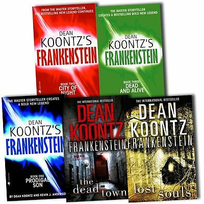 Frankenstein Series Collection Dean Koontz 5 Books Set Lost Soul Dead Town NEW