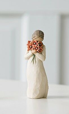 Willow Tree Surrounded By Love Resin Figurine Keepsake Ornament Comfort Gift Box
