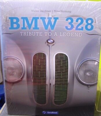 "Buch BMW 328 - Tribute to a Legend by Walter Zeichner in englisch!! ""Neu""(AND)"