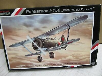 122F - Special Hobby 48055 - 1:48 - Po I-152 With RS-82 Rockets - neu in OVP