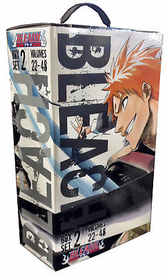 Tite Kubo Bleach Box Set 2 Volumes 22-48 Complete Collection Box Set NEW
