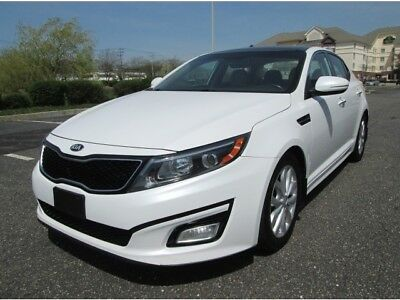 Optima EX 2014 Kia Optima EX GDI Pearl White 1 Owner Fully Loaded Stunning Car Best Buy