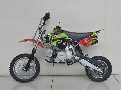 90cc MOTORBIKE DIRT BIKE MOTOR PIT PRO SEMI AUTO SDB90 Teenager Junior | Cob & C