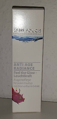 SANS SOUCIS Radiance Feel the Glow Augenpflege Augencreme Anti-Age 15ml NEU