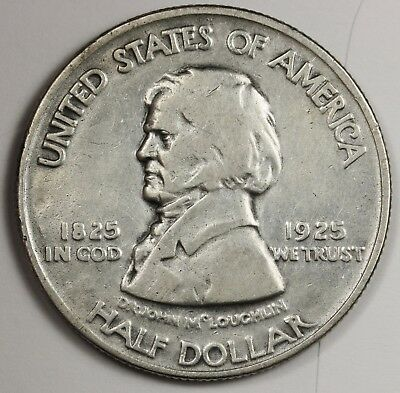 1925 Fort Vancouver Half.  Commemorative.  Circulated.  125659
