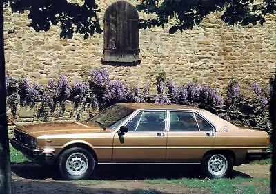 1979 1980 Maserati Quattroporte Factory Photo c2849-7ELLMF