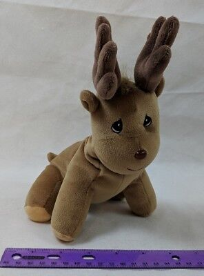 Precious Moments Tender Tails Deer Moose Elk Reindeer Plush Stuffed Enesco