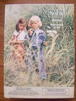 Vintage 1975 SEARS Spring & Summer Catalog VERY NICE 1391 pages