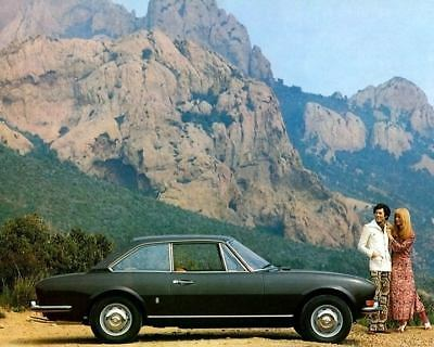 1973 Peugeot 504 Coupe Factory Photo c4298-ZMJAR2