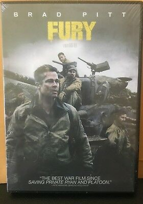 Fury New Dvd Free Shipping!!