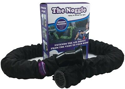 Noggle Extend Your Air Conditioning or Heat to Your Kids (8ft Black Ice)