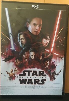 Star Wars: Episode VIII: The Last Jedi NEW DVD FREE SHIPPING!!!