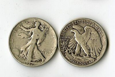 31 Walking Liberty Silver Half Dollars