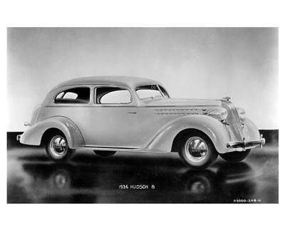 1936 Hudson Eight Factory Photo c6199-AN9RQ2