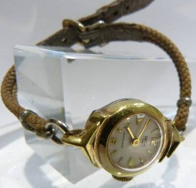 Antique Art  Deco Smiths  Watch Spares Repair 5 Jewels  Use Not A Working Watch