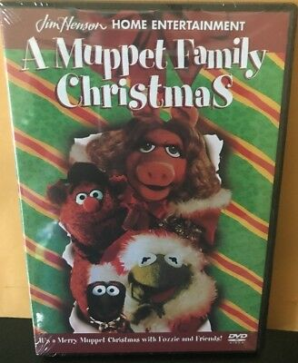 A Muppet Family Christmas NEW DVD FREE SHIPPING!!