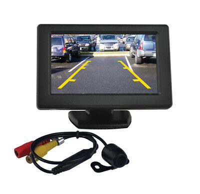 "Tview 4.3"" Tft Rear View Mirror Monitor With Backup Camera"