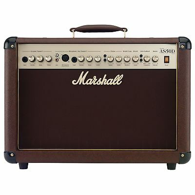 Marshall AS50D Acoustic Soloist Combo * NEW * 50W solid state as 50 50d pa