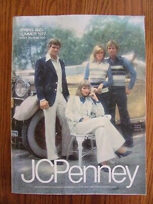 Vintage 1977 JC PENNEY Spring and Summer Catalog NICE 1187 pages