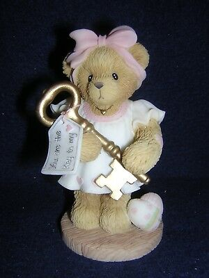 CHERISHED TEDDIES JOSETTE You Are The Key To My Heart NEW & Never Displayed