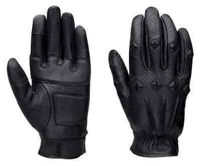 HARLEY DAVIDSON Men's #1 Skull Perforated Gloves * New * Size XL