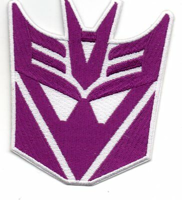 Parche Transformers   Decepticon 10*8,5Cms    Patch
