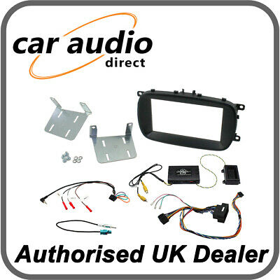Connects2 CTKFT13 Fiat 500X 2015> Double Din Radio Installation Kit Info Adaptor