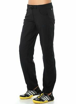 adidas Women's Hiking & Trekking Pants 4 Way Stretch Trousers Upf 50+ Black