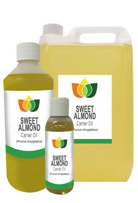 SWEET ALMOND OIL (Prunus Amygdalus Dulcis) Cold Pressed Carrier